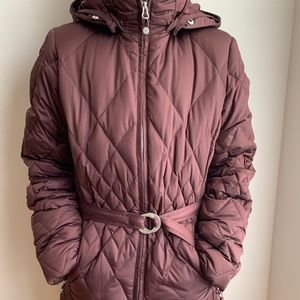 Eddie Bauer down quilted Size XS diamond quilted